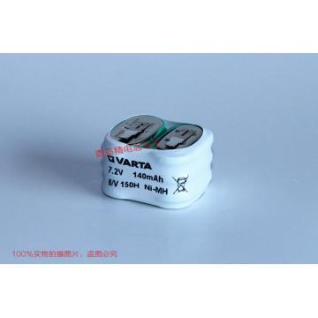 6/V150H 德国 VARTA 瓦尔塔 TR100 TR101 专用电池 7.2V 140mAh